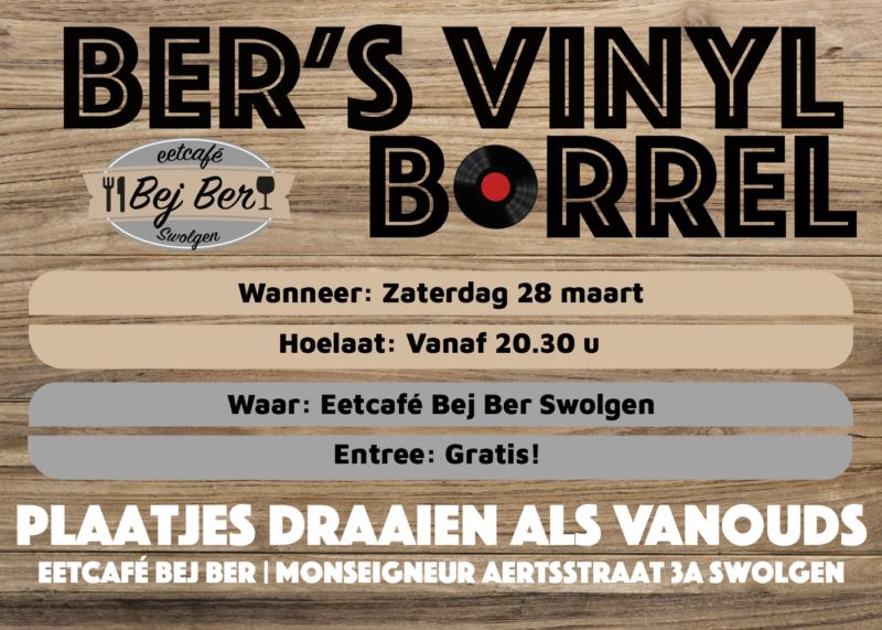 Ber's vinyl borrel